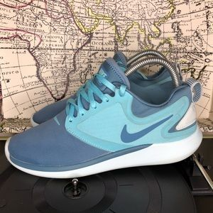 Nike LunarSolo Running Shoes Noise Aqua